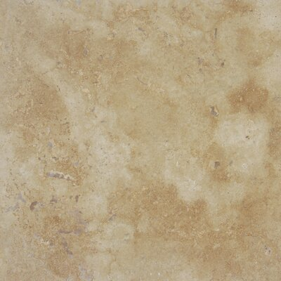 MS International Tuscany Walnut 12'' x 12'' Travertine Field Tile in Honed Brown