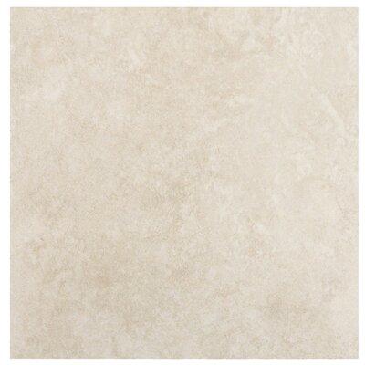 """MS International Travertino 12"""" x 12"""" Porcelain Field Tile in Beige"""
