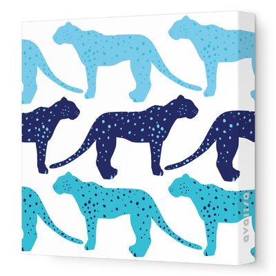 Avalisa Animals Cheetah Stretched Canvas Art