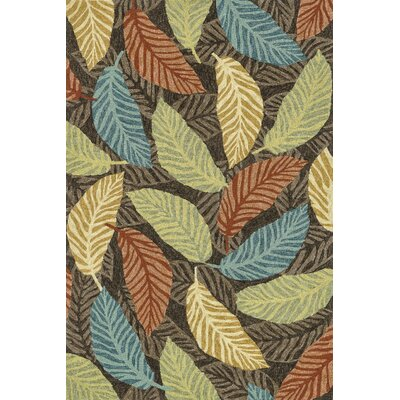 Tropez Brown/Multi Tropical Inspired Indoor/Outdoor Rug by Loloi Rugs