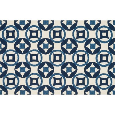 Francesca Ivory/Navy Rug by Loloi Rugs