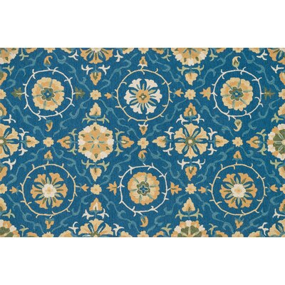 Francesca Blue/Gold Rug by Loloi Rugs