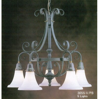 Costa Del Sol 5 Light Chandelier by Classic Lighting