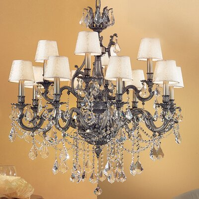 Classic Lighting Majestic Imperial 12 Light Chandelier