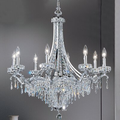 Classic Lighting Emily 8 Light Chandelier