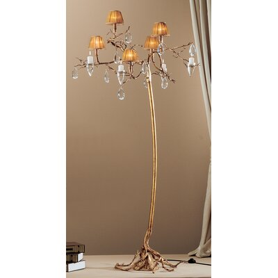 Morning Dew 5 Light Chandelier in Natural Bronze by Classic Lighting