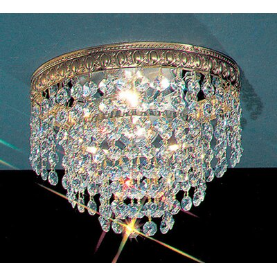 Crystal Baskets Light Semi-Flush Mount Product Photo