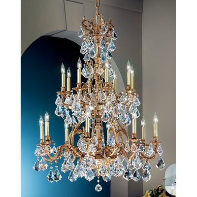 Classic Lighting Majestic 16 Light Chandelier