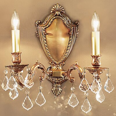 Classic Lighting Chateau 2 Light Wall Sconce