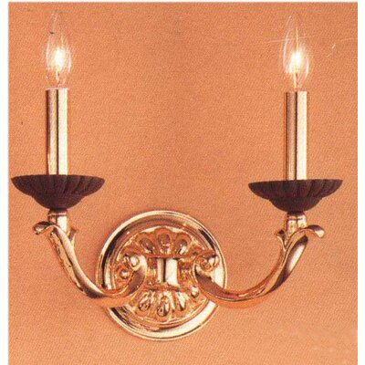 Classic Lighting Orleans 2 Light Wall Sconce
