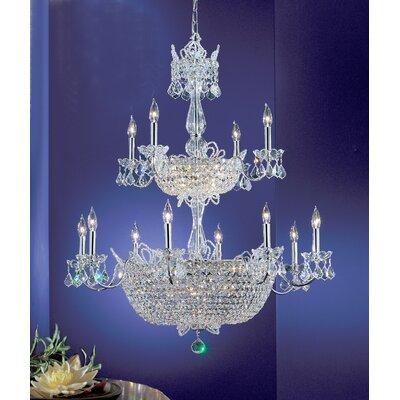 Classic Lighting Crown Jewels 32 Light Chandelier