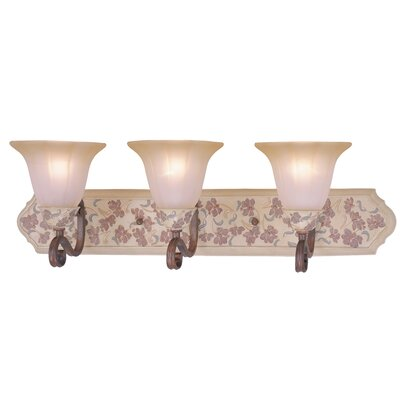 Classic Lighting Tapestry 3 Light Bath Vanity Light