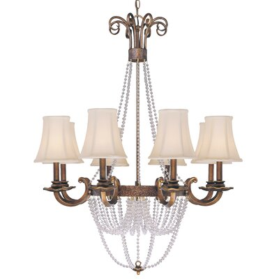 Grace 8 Light Chandelier by Classic Lighting