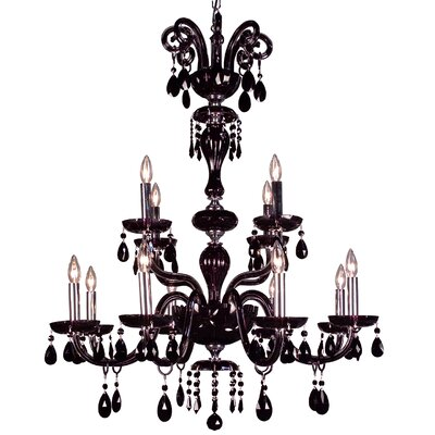 Classic Lighting Monte Carlo 12 Light Chandelier