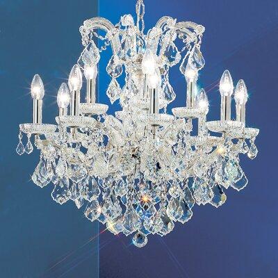 Classic Lighting Maria Thersea 12 Light Chandelier