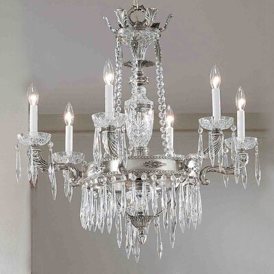 Classic Lighting Duchess 6 Light Chandelier