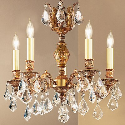 Chateau 5 Light Chandelier Product Photo