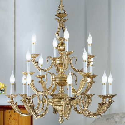 Classic Lighting Alexandria III 16 Light Chandelier