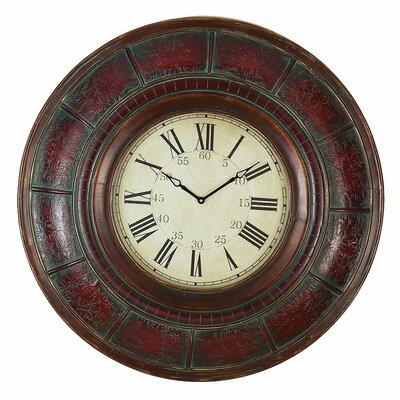 "Aspire Oversized 36"" Brick Wall Clock"