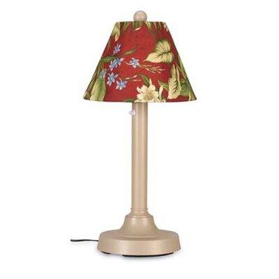 """Patio Living Concepts San Juan 34"""" H Table Lamp with Empire Shade"""