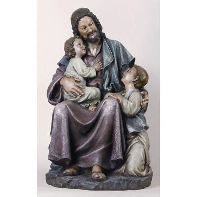 Roman, Inc. Jesus with Children Statue
