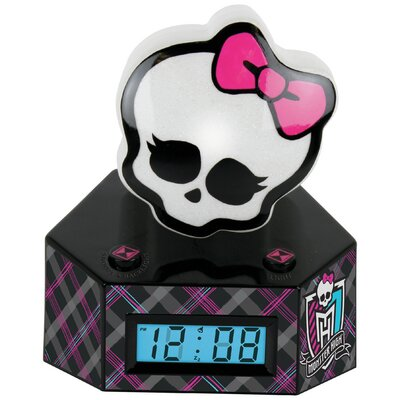 Monster High LCD Alarm Clock with Nightlight by Ashton Sutton