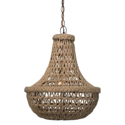 Jamie Young Company Jute Macrame Chandelier Amp Reviews