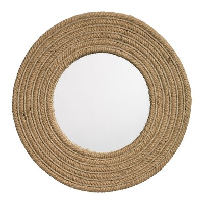 Jamie Young Company Jute Round Mirror