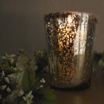Amber Home Products Champagne Vase Style Votive