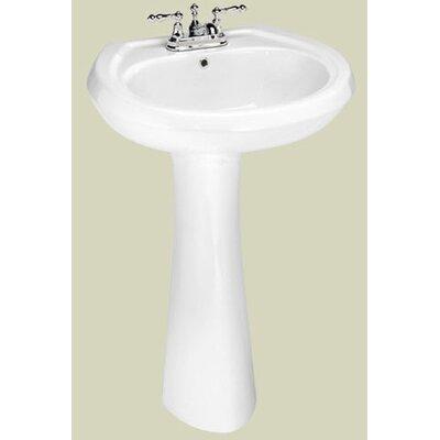Stafford Pedestal Bathroom Sink Product Photo