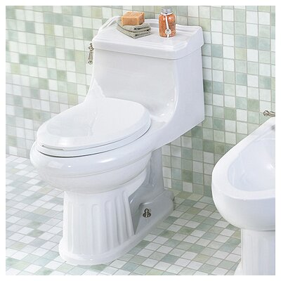 Arlington Chair-Height 1.28 GPF Elongated 1 Piece Toilet Product Photo