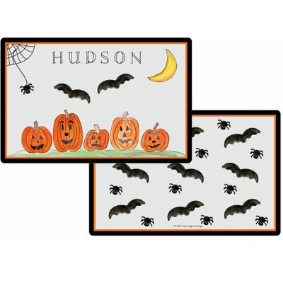 The Kids Tabletop Haunted Halloween Placemat by Kelly Hughes Designs