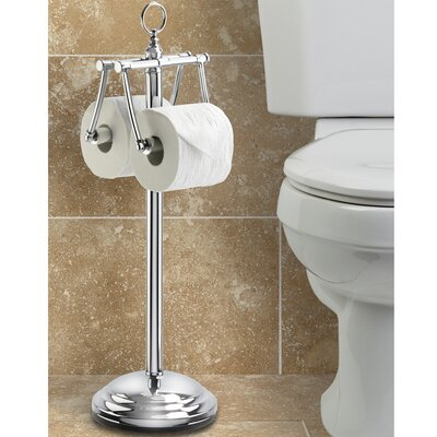Better Living Products The Toilet Caddy Free Standing Duo Tissue Dispenser