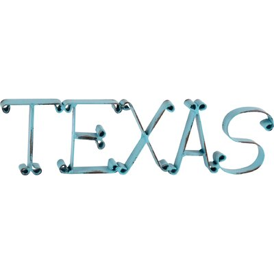 Metal Texas Decor by Wilco Home