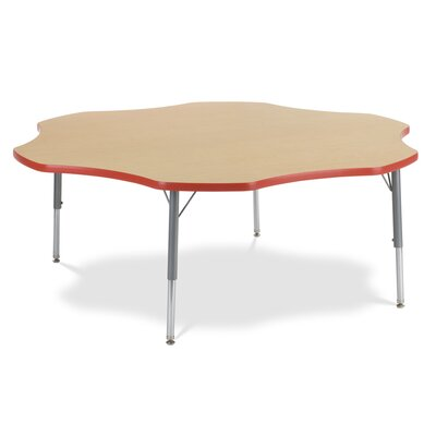 "Virco 4000 Series 60"" Flower Classroom Table"