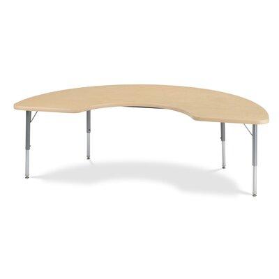 "Virco 4000 Series 72"" x 36"" Kidney Classroom Table"