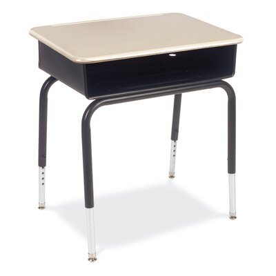 Plastic Student Desk by Virco