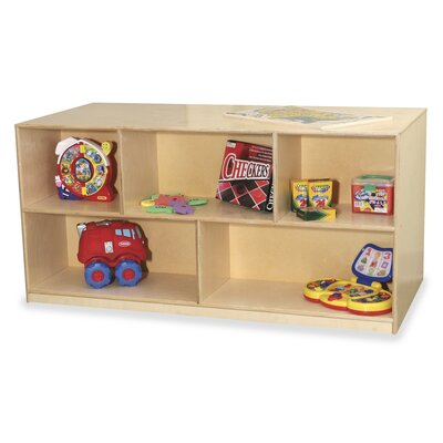 Virco Early Childhood 5 Compartment Mobile Storage Unit