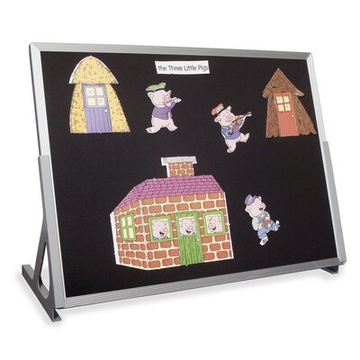 Virco Table Top Flannel Easel