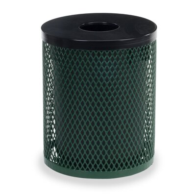 Virco 32-Gal Outdoor Trash Receptacle