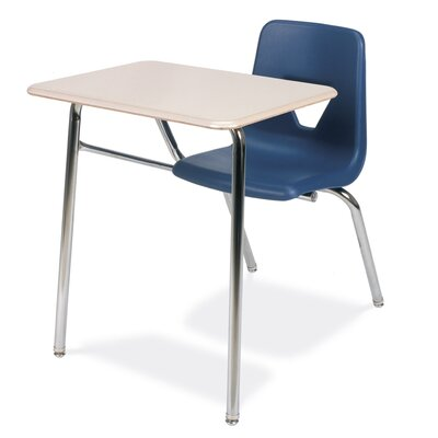 "Virco 2000 Series 31"" Plastic Combo Chair Desk"