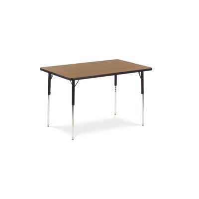 "Virco 4000 Series 48"" x 30"" Rectangular Classroom Table"