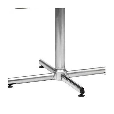 "Virco Lunada 33"" X-Shaped Steel/Aluminum Base"