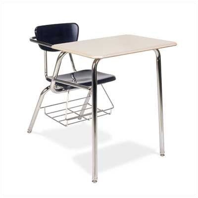 "Virco 3000 29"" Series Plastic Combo Chair Desk"