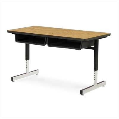 Virco Laminate Double Open Front Student Desk