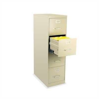 Virco 4-Drawer Legal File