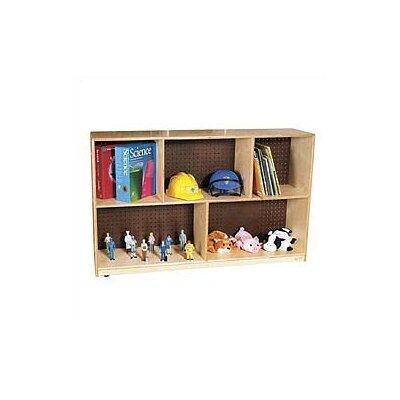 Virco Early Childhood Mobile Single Storage Unit