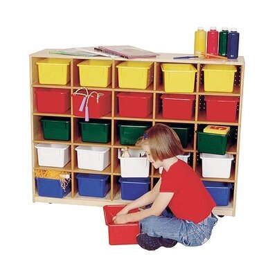 Virco Early Childhood Tote Tray Cabinet Cubby