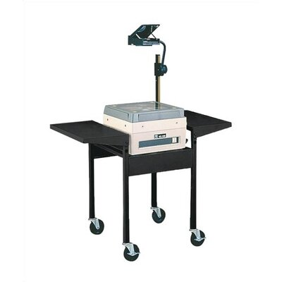 Virco Adjustable Height AV Cart with Overhead Projector