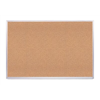 Virco Natural Wall Mounted Bulletin Board